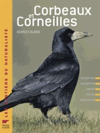 Georges Olioso - Corbeaux et corneilles - Répartition, description, habitat, moeurs, observation.