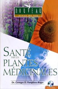 Georges Pamplona-Roger - Santé par les plantes médicinales. 1 DVD