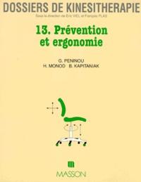 Georges Peninou - Prévention et ergonomie.
