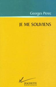 Georges Perec - Les choses communes Tome 1 : Je me souviens.