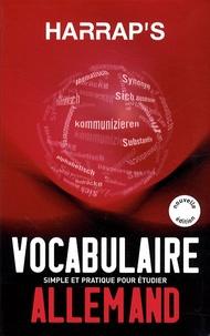 Georges Pilard - Harrap's Vocabulaire Allemand.