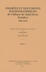 Georges Pon et Jean Cabanot - Chartes et documents hagiographiques de l'abbaye de Saint-Sever (Landes) (988-1359) - 2 volumes.