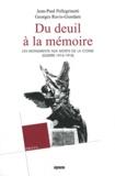 Georges Ravis-Giordani et Jean-Paul Pellegrinetti - Du deuil à la mémoire - Les monuments aux morts de la Corse (Guerre 1914-1918). 1 Cédérom
