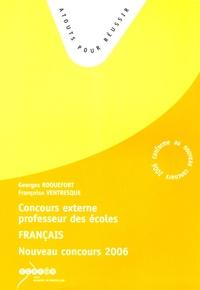 Georges Roquefort et Françoise Ventresque - Français - Concours externe de professeur des écoles 2006.