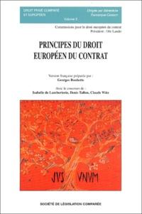 Georges Rouhette - Principes du droit européen du contrat.