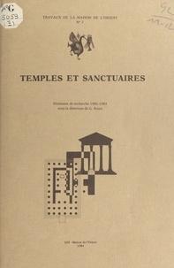 Georges Roux - Temples et sanctuaires - Séminaire de recherche, 1981-1983, [Lyon].