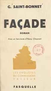 Georges Saint-Bonnet et Henry Chapront - Façade.