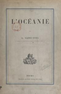 Georges Saint-Yves - L'Océanie.