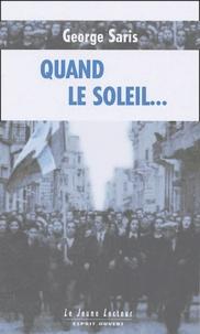 Georges Saris - Quand le soleil....
