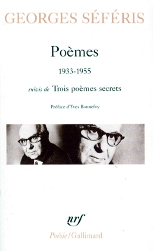 Poèmes (1933-1955) - Georges Séféris