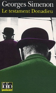 Georges Simenon - Le testament Donadieu.