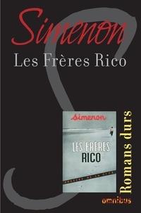 Georges Simenon et  Loustal - Les Frères Rico.