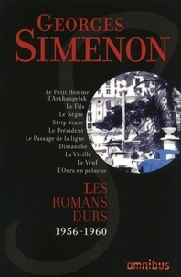 Amazon livres audio gratuits à télécharger Les romans durs  - Volume 10, 1956-1960  par Georges Simenon in French 9782258192430
