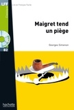 Georges Simenon - Maigret tend un piège - B2. 1 CD audio