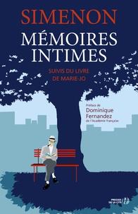 Georges Simenon - Mémoires intimes - Suivi du livre de Marie-Jo.