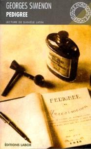 Georges Simenon - Pedigree.
