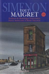 Georges Simenon - Tout Maigret Tome 10 : 1936-1950 - Les nouvelles.