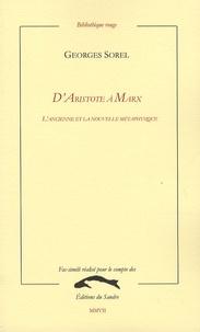 DAristote à Marx - Lancienne et la nouvelle métaphysique.pdf