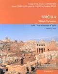 Georges Tate et Maamoun Abdulkarim - Sergilla, village d'Apamène - Tome 1, Une architecture de pierre, 2 volumes + dépliants.