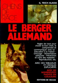 Georges Teich Alasia - Le berger allemand.