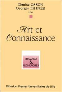 Georges Thinès et Denise Osson - Art et connaissance.