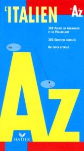 Livres audio en anglais à télécharger L'italien de A à Z