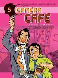Georges Van Linthout et  Didgé - Caméra Café Tome 5 : C'est nous qui offre.