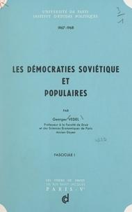 Georges Vedel - Les démocraties soviétique et populaires (1).