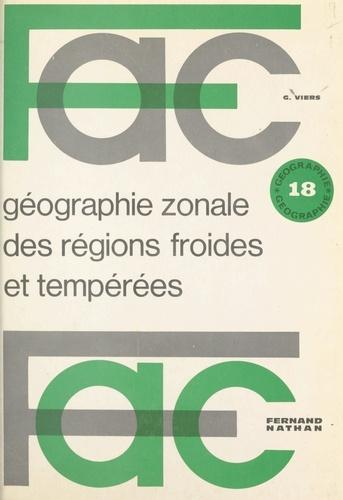 Géographie zonale des régions froides et tempérées