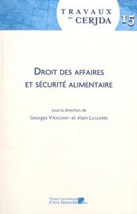 Georges Virassamy et Alain Laguerre - Droit des affaires et sécurité alimentaire - Workshop de mars 2017.