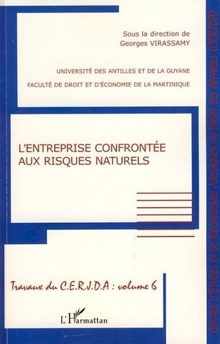 Georges Virassamy - L'entreprise confrontée aux risques naturels.