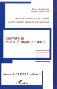 Georges Virassamy - L'entreprise face à l'éthique du profit.