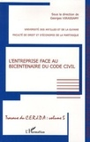 Georges Virassamy - L'entreprise face au bicentenaire du code civil.