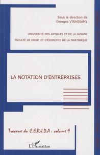 Georges Virassamy - La notation d'entreprises.