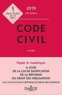 Georges Wiederkehr et Xavier Henry - Code civil 2019, annoté.