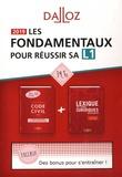 Georges Wiederkehr et Xavier Henry - Les fondamentaux pour réussir sa L1 - Coffret en 2 volumes : Code civil ; Lexique des termes juridiques.
