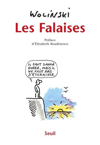 Georges Wolinski - Les falaises.