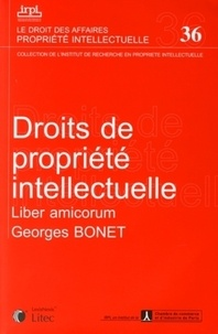 Georget Bonet - Droits de propriété intellectuelle.