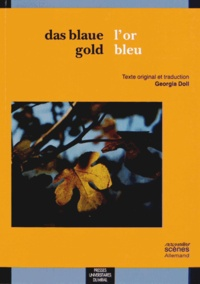 Georgia Doll - L'or bleu.