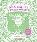Georgia Low - Déco nature en papier découpé - Plus de 20 créations faciles prêtes à découper.