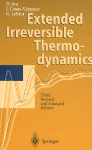 Extended irreversible thermodynamics. 3rd edition - Georgy Lebon | Showmesound.org