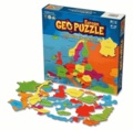 GeoToys - Geo Puzzle Europe 58 pièces.
