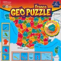 GeoToys - GEOpuzzle France - 94 pièces.