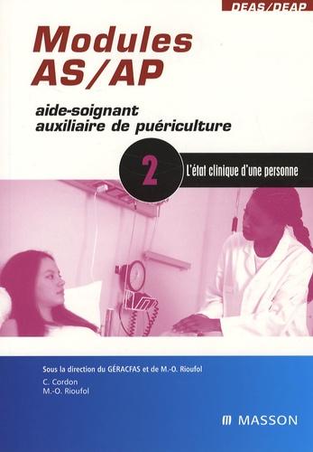 GERACFAS et Marie-Odile Rioufol - L'état clinique d'une personne - Module 2.