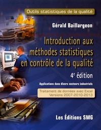 Gérald Baillargeon - Introduction aux méthodes statistiques en contrôle de la qualité - Outils statistiques de la qualité. 1 Cédérom