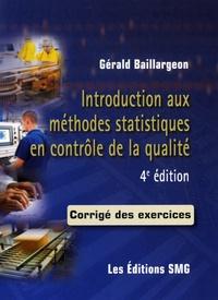 Introduction aux méthodes statistiques en contrôle de la qualité - Corrigé des exercices.pdf