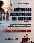 Gérald Baillargeon - Méthodes statistiques en gestion - Applications en management, production, comptabilité, finance et ressources humaines.