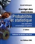 Gérald Baillargeon - Probabilités et statistique avec applications en technologie et ingénierie - Corrigé des exercices.