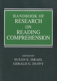 Gerald G Duffy - Handbook of Research on Reading Comprehension.