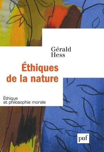 Ethiques de la nature